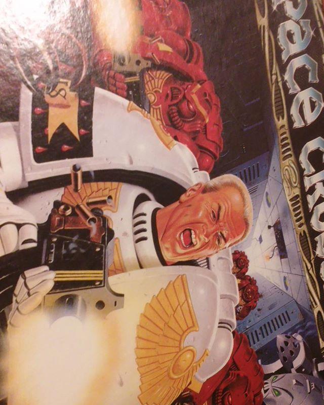 Found the holy grail. In Finnish. #spacecrusade #thriftstorefinds #boardgames #retro #spacemarine #warhammer40k #finland