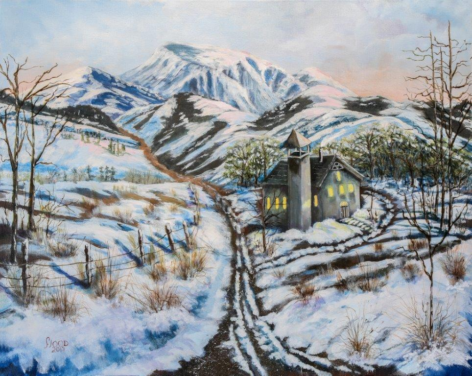 Spring Thaw, by Claudia Flood
