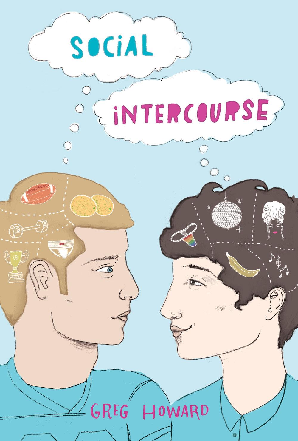 social intercourse, greg howard, book, ya, young adult, romance