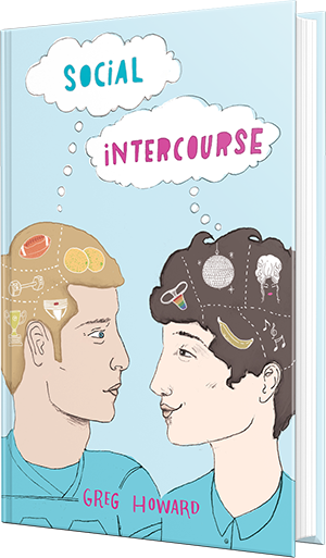 social intercourse, greg howard, book, ya, young adult, romance