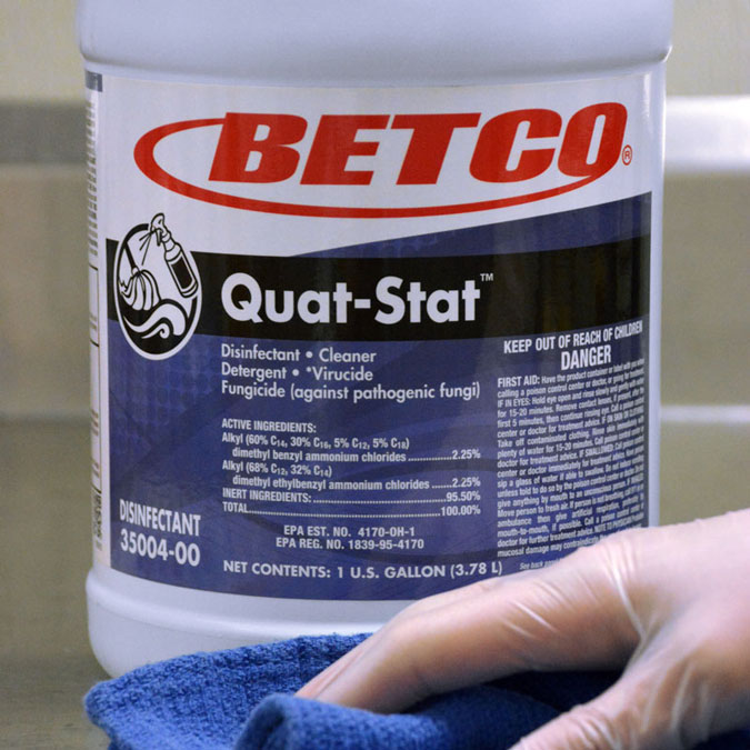 Betco-Quat-Stat-Chemical-Label