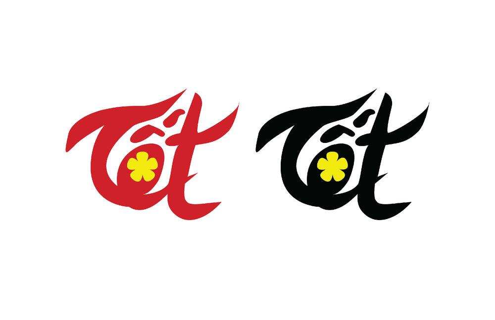 Logos of Tết