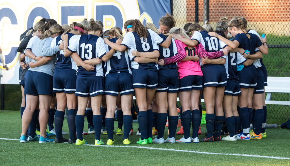 Bethel University Women's Soccer 2016