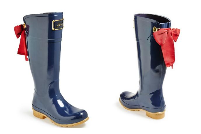 Chic rain boots!