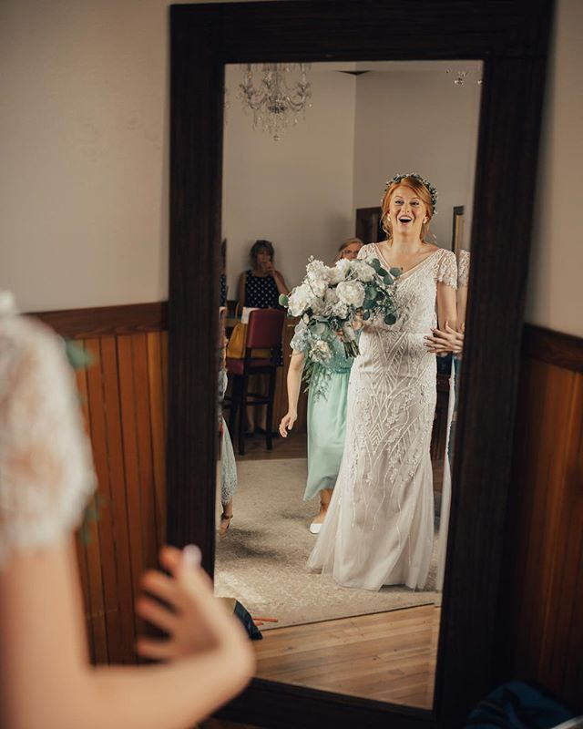 That feeling when you're about to walk down the aisle... 🎉