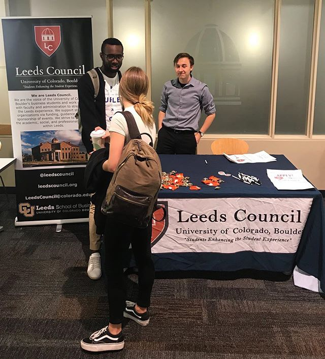 Come and meet Leeds Council members right now in the atrium until 12! Learn about the elections and positions available. Remember that applications are due THIS SUNDAY!