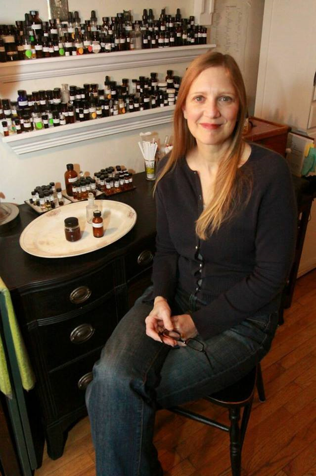 Perfumer Julianne Zaleta of Alchemologie Natural Perfume