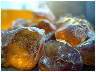 amber and oriental perfumes