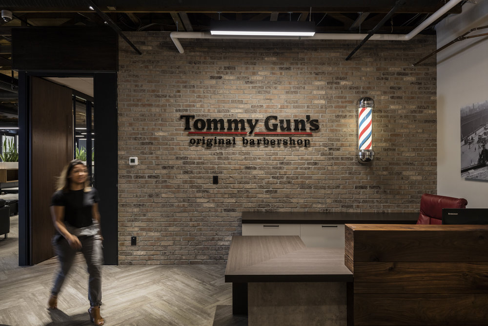 TOMMY GUN'S BARBERSHOP HEAD OFFICE