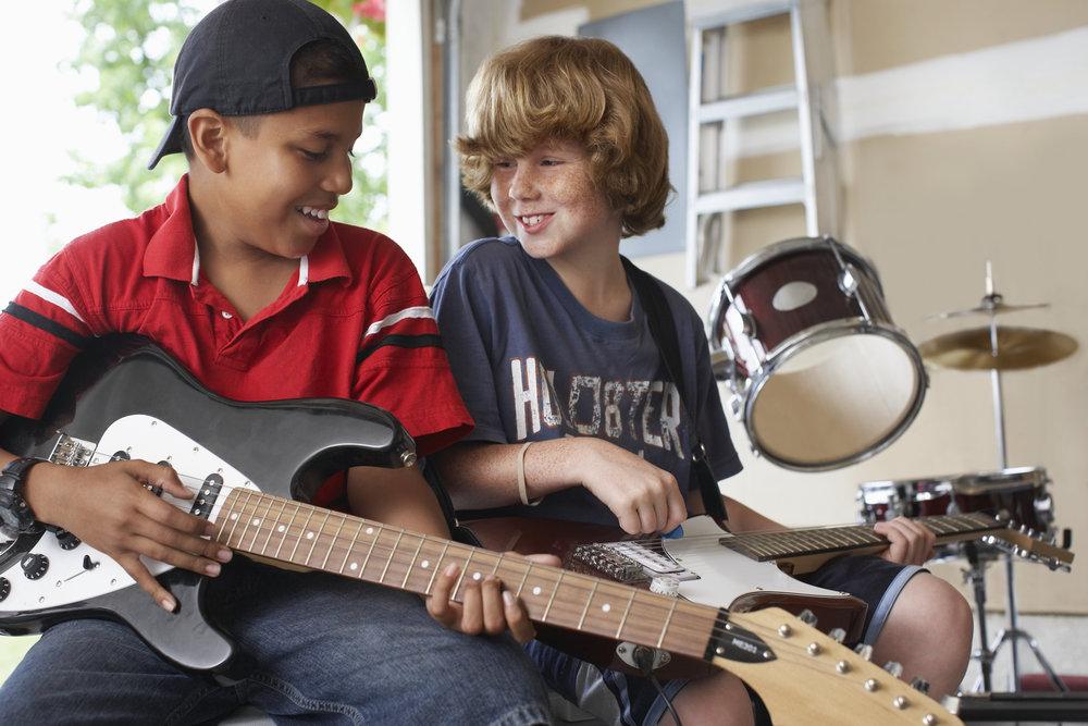 Gitar - Ett fint instrument å starte med!