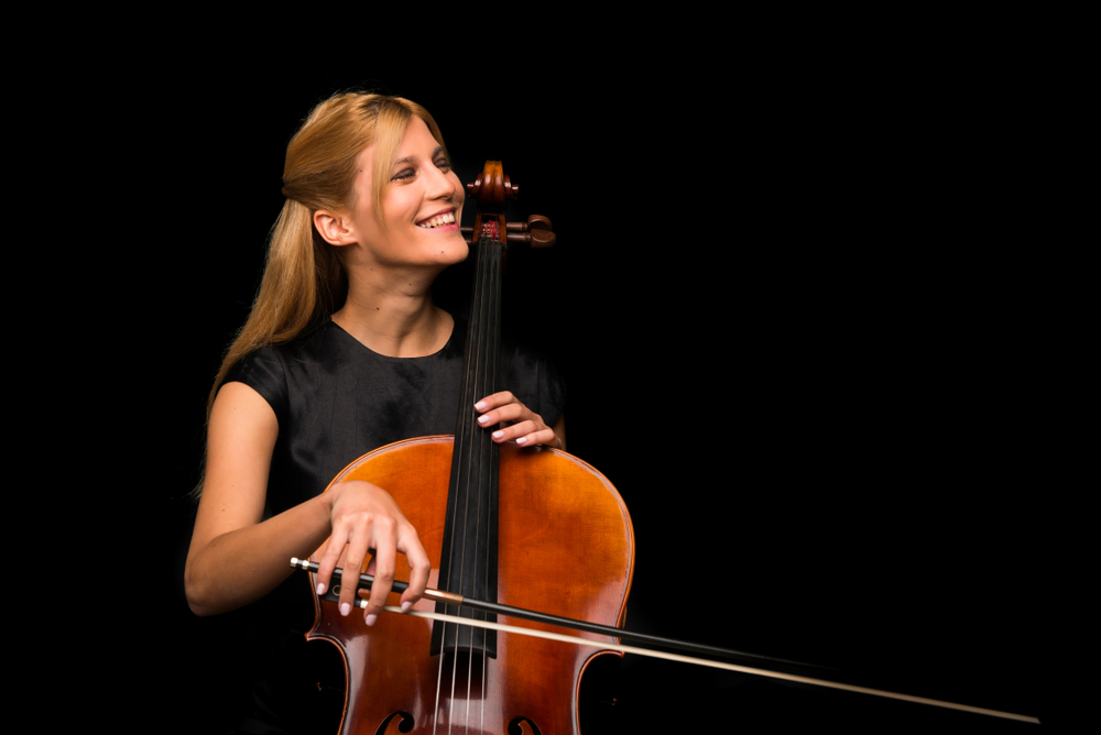 Cello - Nytt instrument ved Feedback Studios!