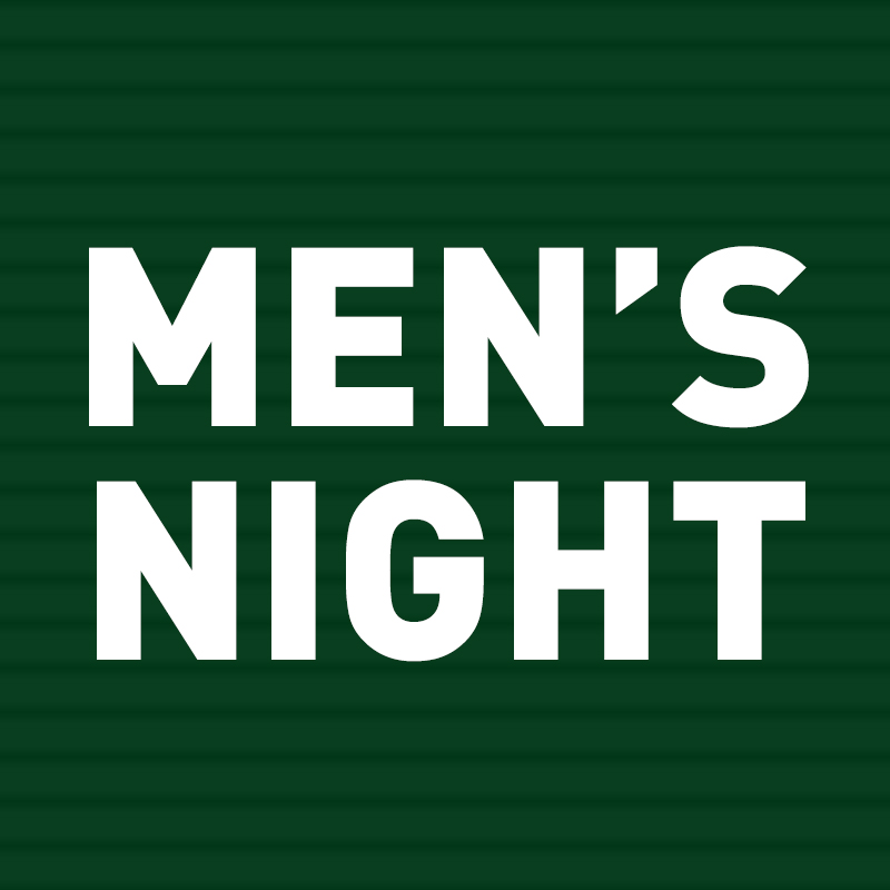 Join in a night of food, fellowship, and discussion with other men in your church.