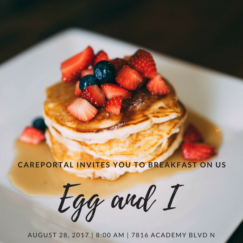 You deserve a break today so let us treat you to a great breakfast at The Egg & I and encouraging words from Adrien Lewis, the Executive Director of CarePortal. This is Adrien's first visit with us in Colorado so please consider attending and bringing another church with you!   RSVP For Your Spot Here!
