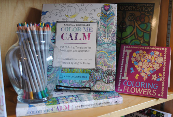 Coloring + pencils is a perfect gift