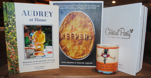 Cookbooks, including one by Audrey Hepburn's son, written in her honor