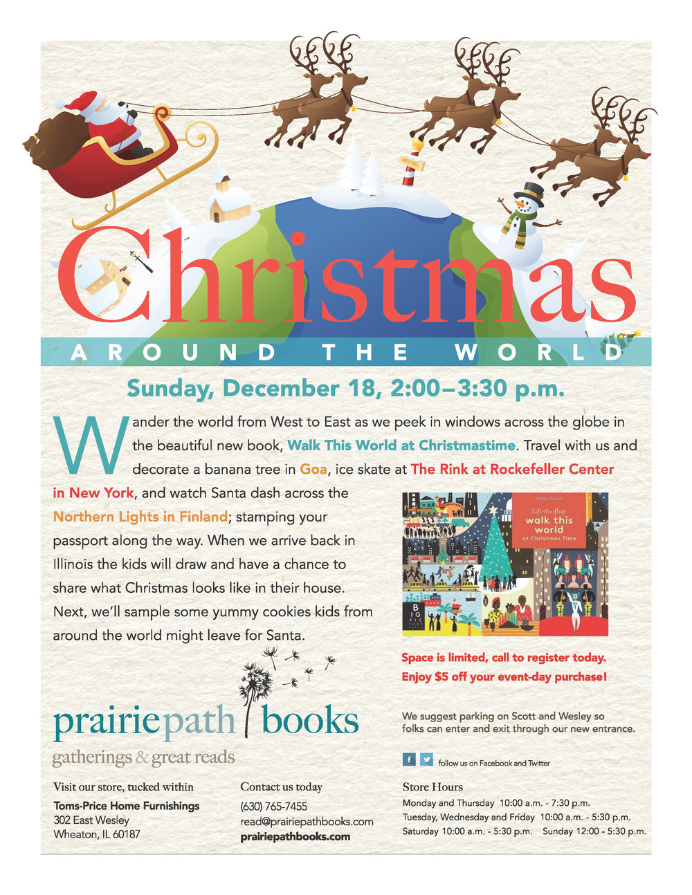 Christmas Around The World SOLD OUT! — Prairie Path Books
