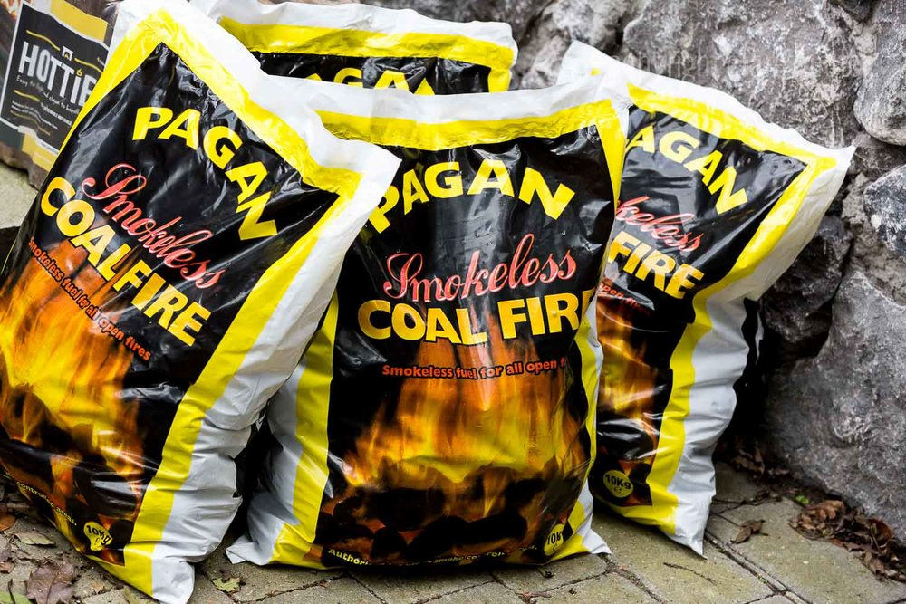 - Smokeless Fuel (UK) Approved (Hetas / DEFRA) - smokeless coal, briquettes for use in smokeless areas, for open fires and certain closed appliances.(If in doubt check with manufacturer)