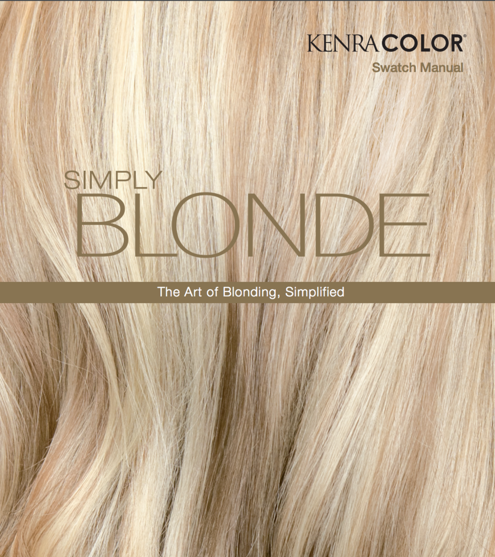 Download the Simply Blonde Manual