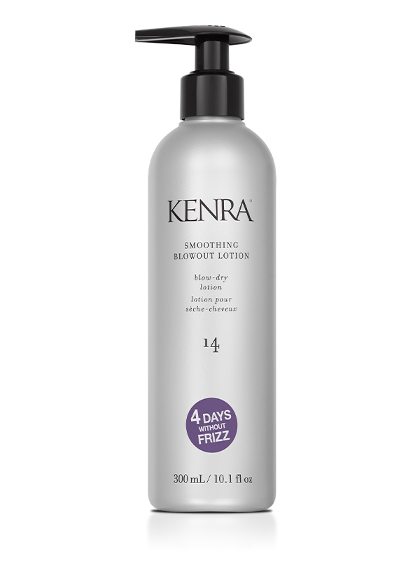 SMOOTHING BLOWOUT LOTION 14 - blow-dry lotion• Up to 4 days without frizz• Enhances smoothness & manageability of a blowout• Increases softness & moisture for healthy looking hair• Medium hold, ideal for medium to coarse hair