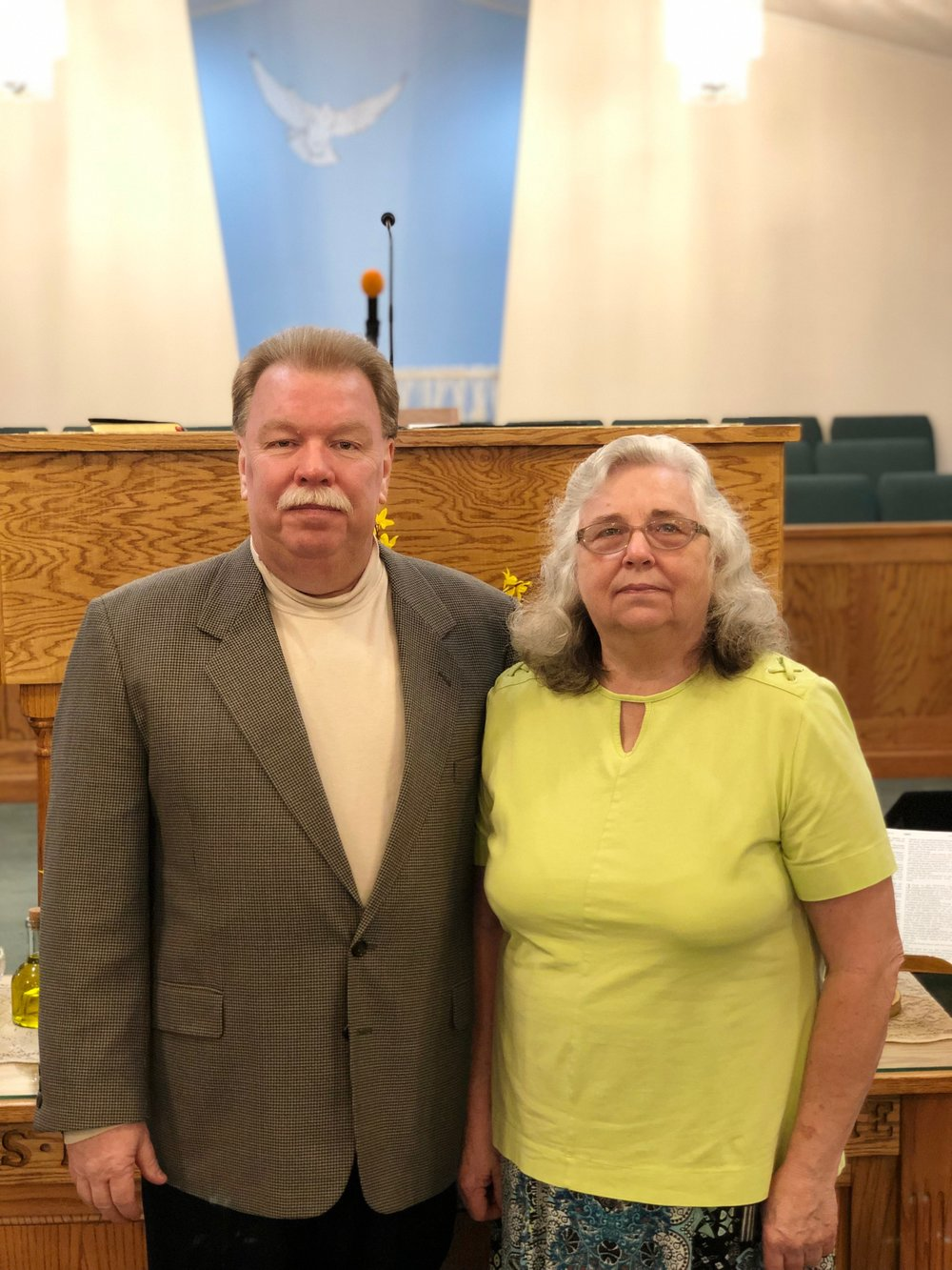 Pastor  - Andy and Dorothy Hutchins