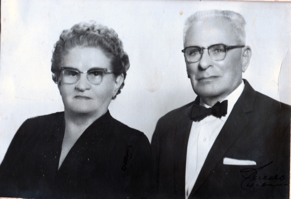 My mother's grandparents on her father's side, Angel and Lola Aguilar. Angel was the one who convinced Miguel, my grandfather, to leave Cuba with his family. Angel and Lola followed Miguel to the United States, several years later.
