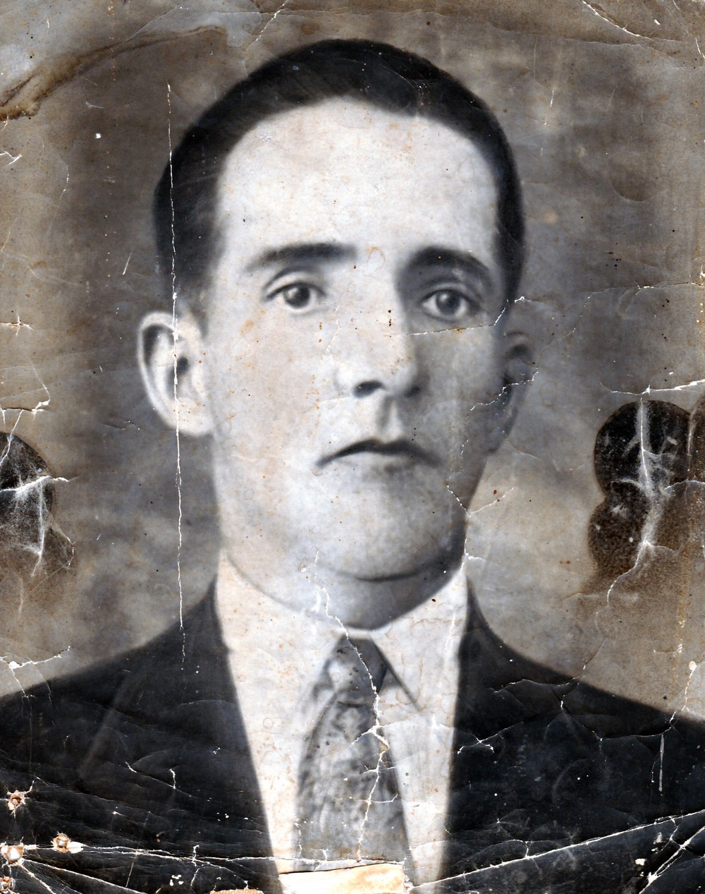 My mother's grandfather Domingo Rodriguez, shortly after he came to Cuba from Spain to work building the railroads in the early 1920's.