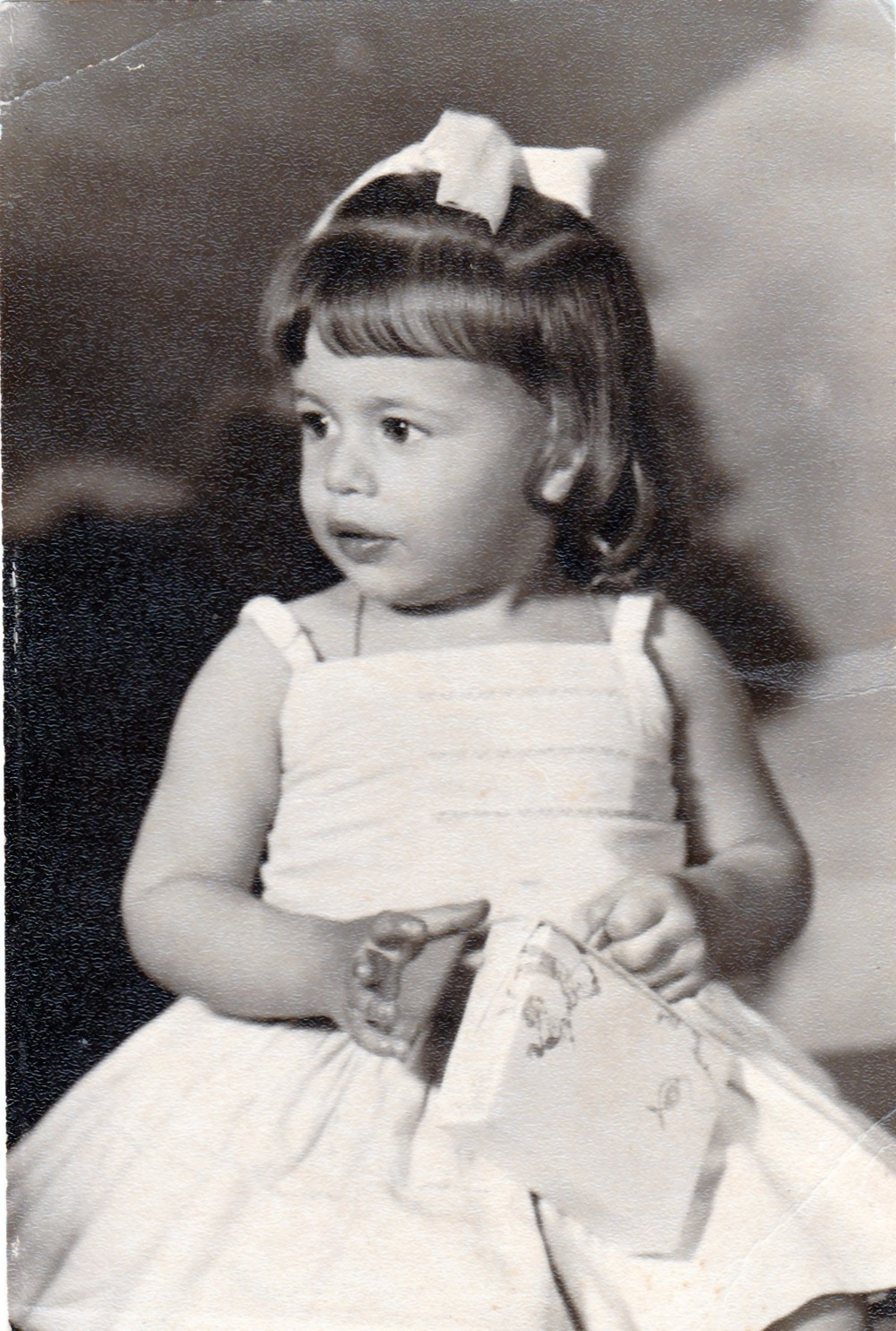 My mother on her second birthday, in Cuba.