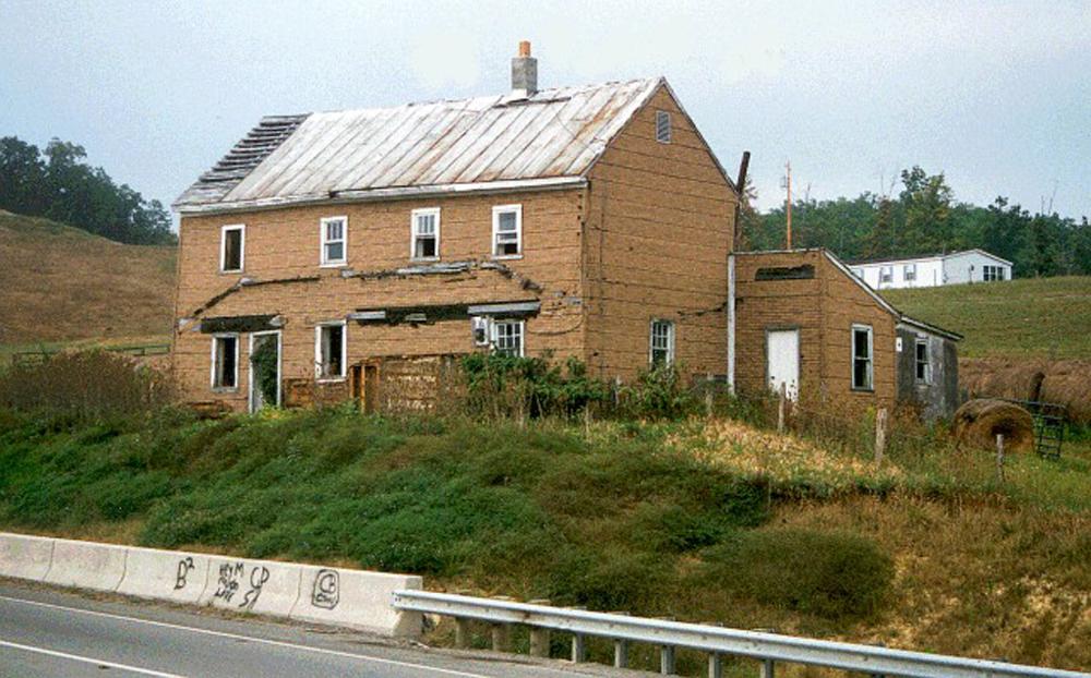 1996 - cabin prior to the move