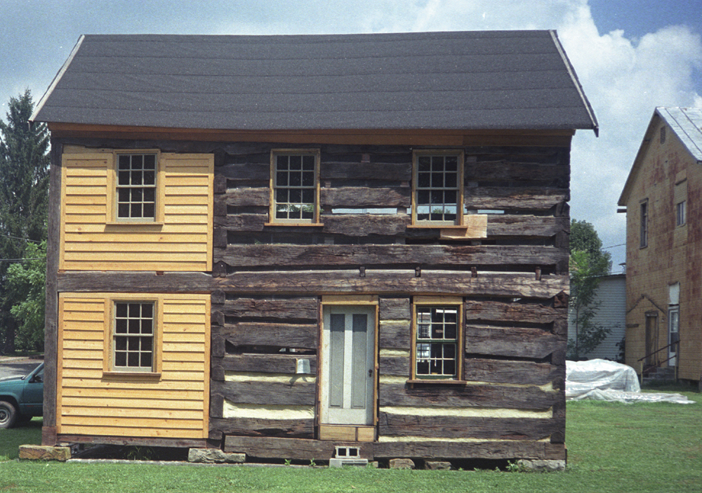 cabin prechinkfront.jpg