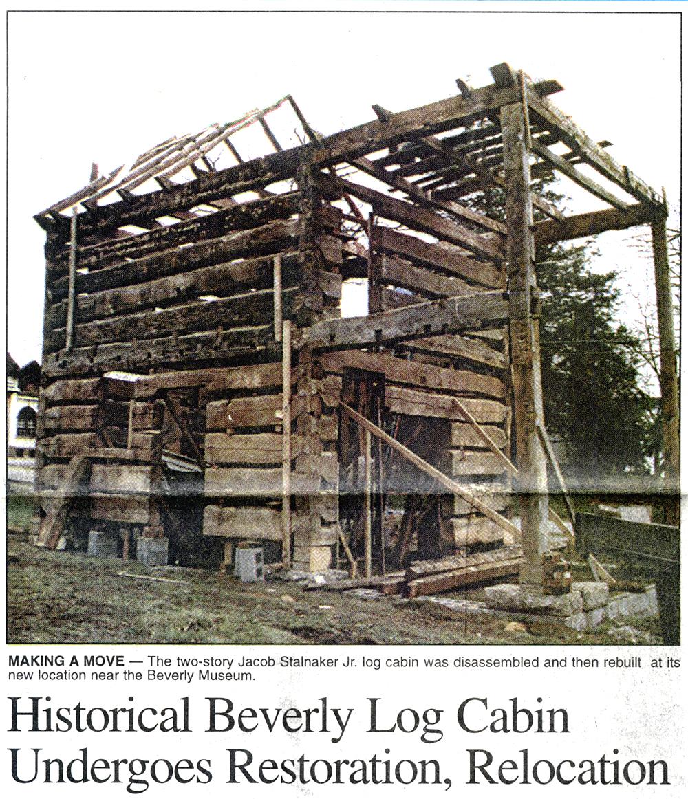 1998 - cabin in new location