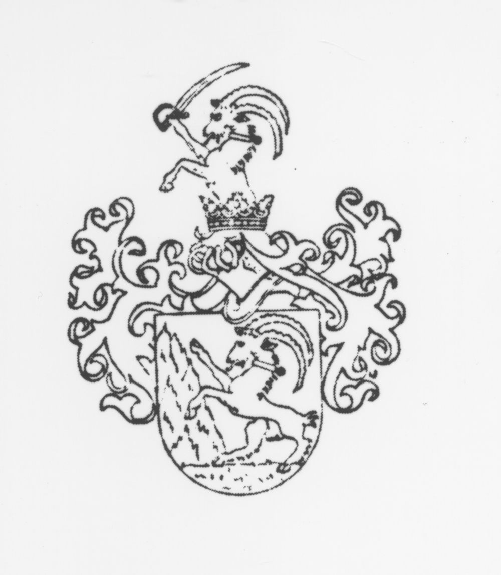 The Steinaecker coat-of-arms dates 1637. A family of imperial noble lineage in Vienna dating from 1637, established by the brothers Joachim, resident in Germershof and Diersheim, Otto Johann, resident at Brumby and Haldem, the founding father of a flourishing family, and Christoph Anton Steinaecker, resident at Lindow and Nipperwiese; confirmed by the Electoral Brandenburg court on December 5, 1951 for Karl Philipp Joachim von Steinaecker; Prussian confirmation to continue the title in Berlin on April 27, 1861, permission granted to the entire family. - translated by Marion R. Wenger, Ph.D, Goshen College, Indiana.