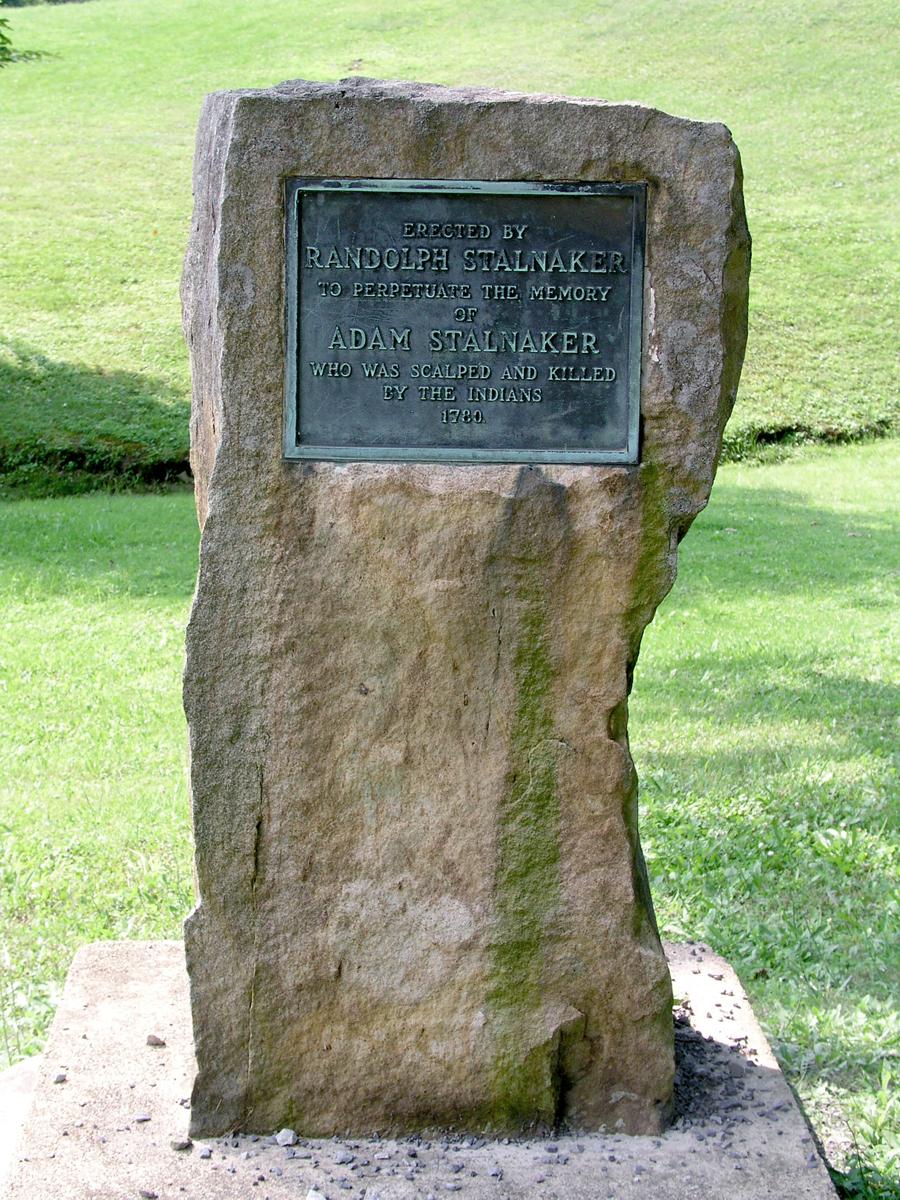 Adam Stalnaker Monument