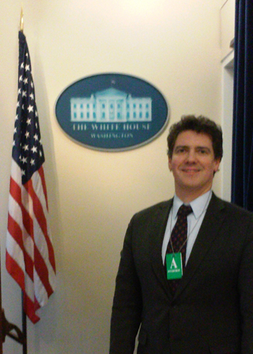 Paul Lashmet at the White House Business Briefing on International Trade