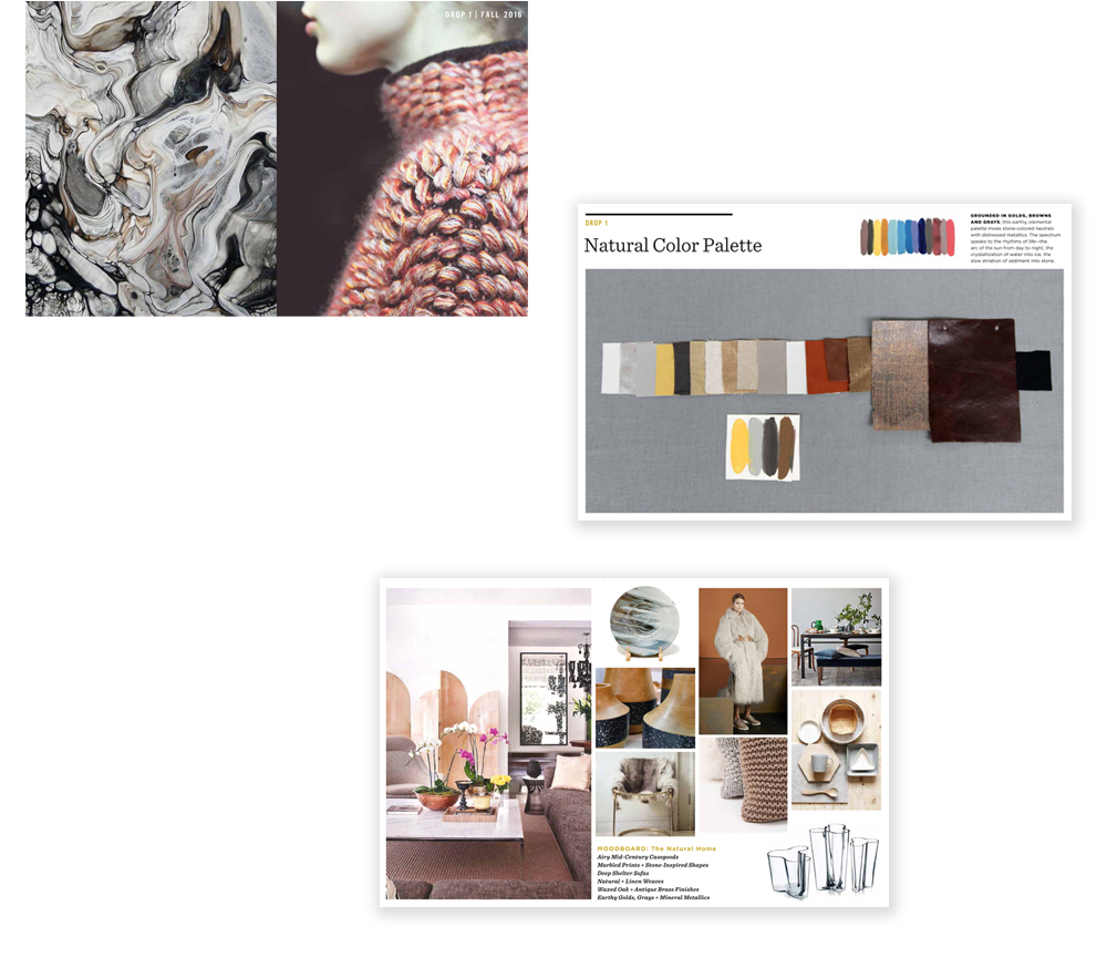 CONCEPT BOOK SAMPLE PAGES WEST ELM