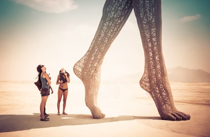 A Story: Impact Beyond The Playa - sculpture: