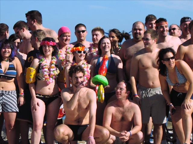 Record Turnout At 2008 Polar Plunge And >> 2009 Chicago Polar Bear Club