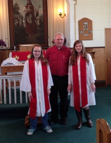 First Lutheran 2016 Confirmation Class
