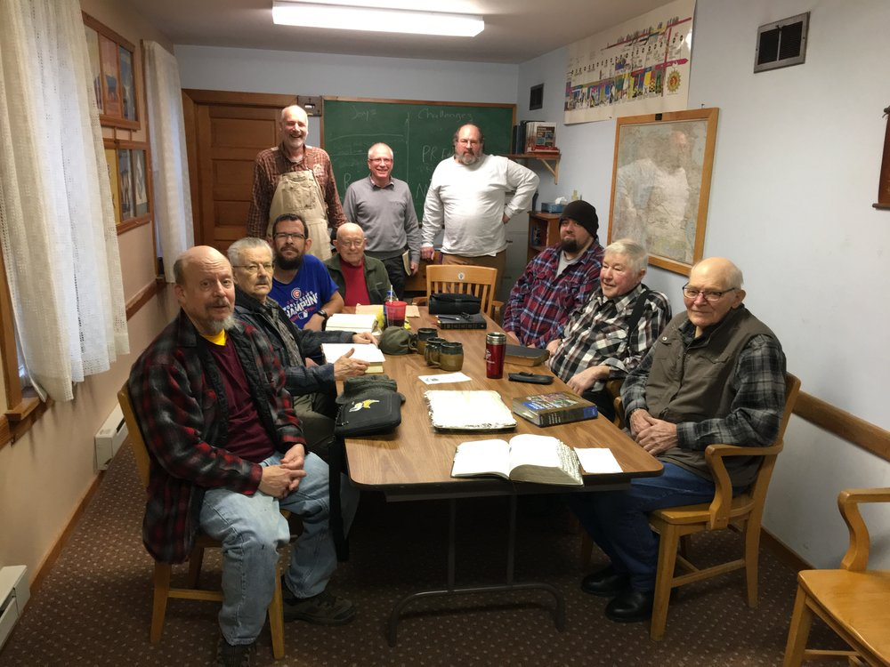 Men's Bible Study at St. Paul