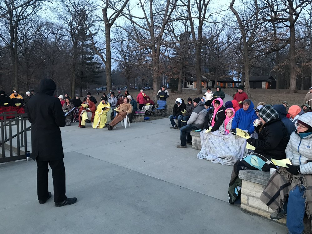 Easter Sunrise Service 2018