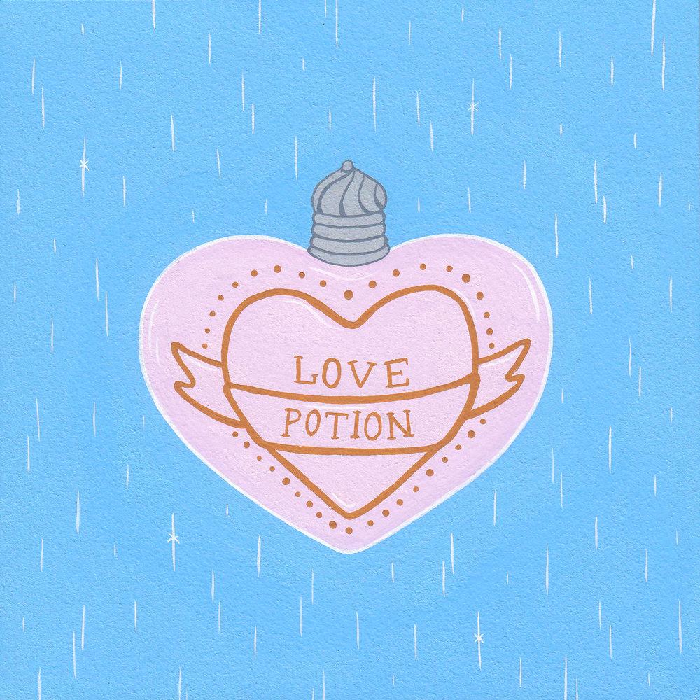 WEASLEY'S LOVE POTION