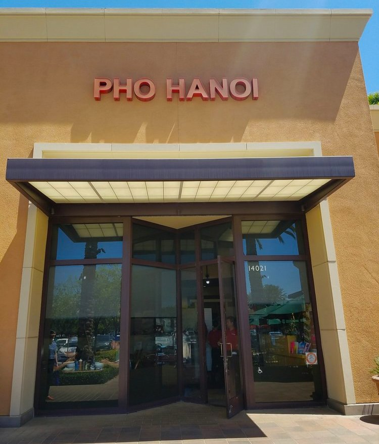 Pho Ha Noi is located at 14021 Jeffrey Rd. in Irvine