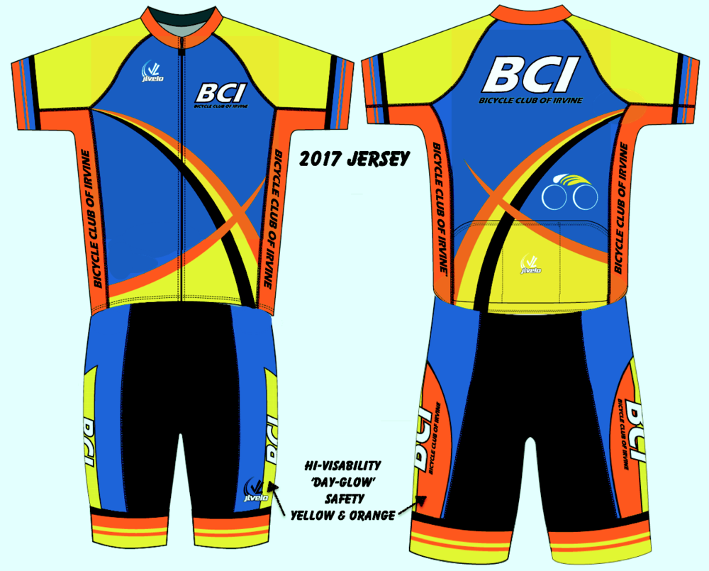 Our Newest 2017 BCI Jersey 'Kit' - look for next ordering opportunity this spring!