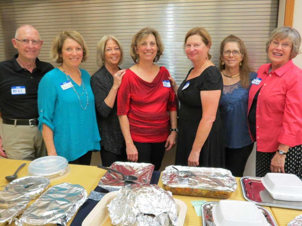Mike Farrell, Jane Schrenzel, Deby Six, Maya Ziegler, Beth Sher, Alice Fascella & Tommie Kozlov led the team in coordinating a fabulous pot luck feast