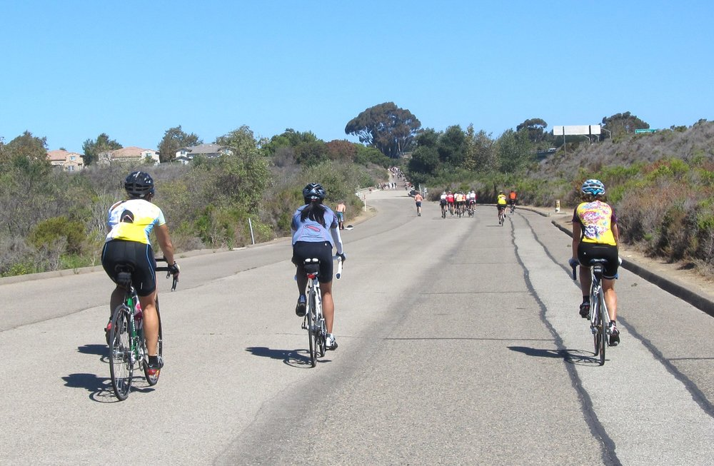 Old Highway Bike Path - Car free multi use path between San Onofre & San Clemente