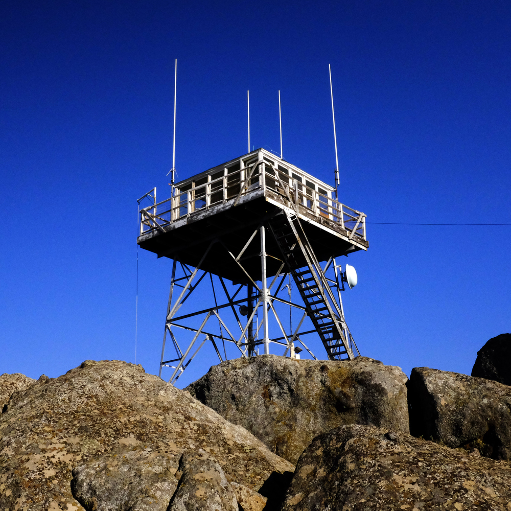 Oak Flat Lookout Tower