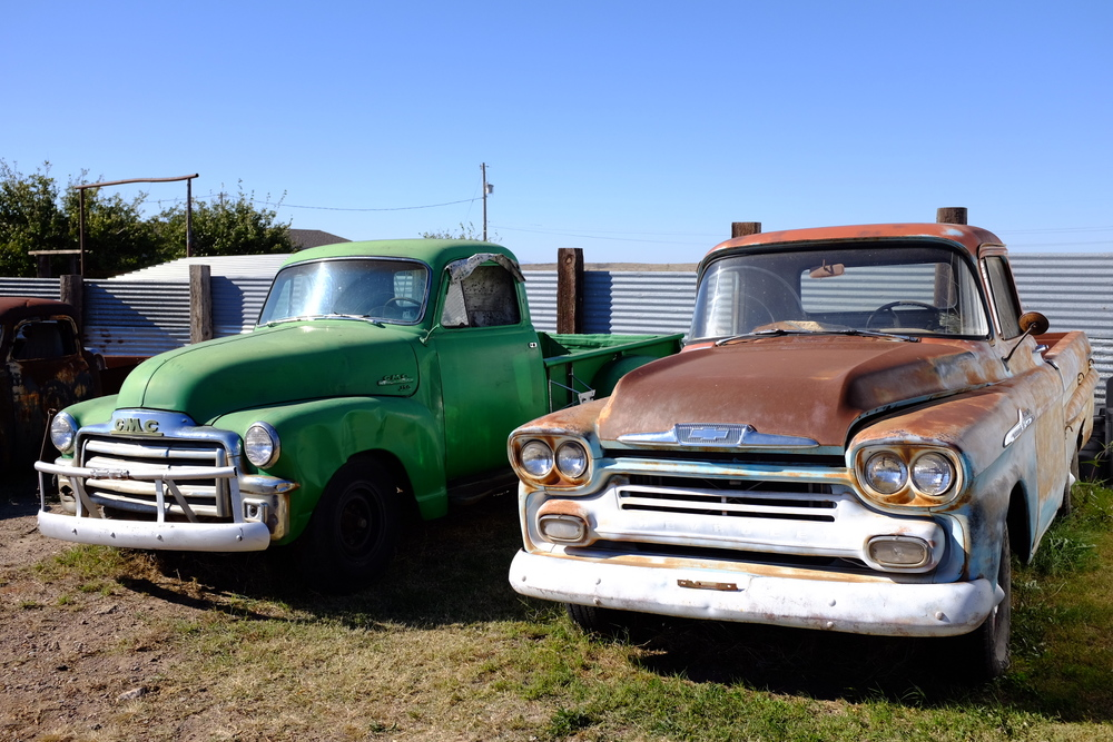 old trucks marfa