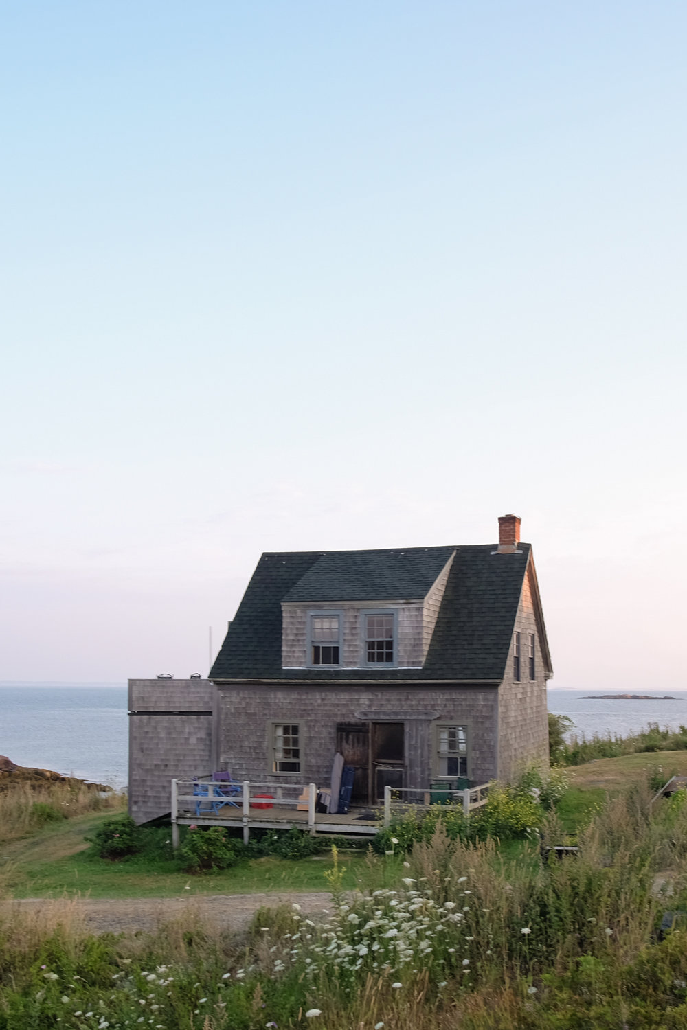 monhegan cottage