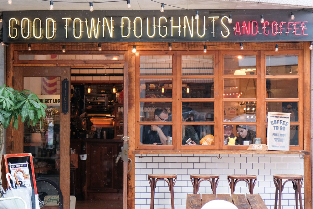 good town doughnut sign