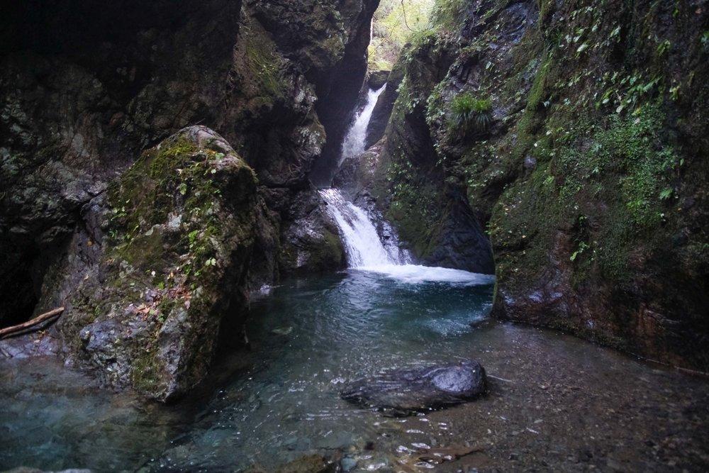 waterfall unazawa