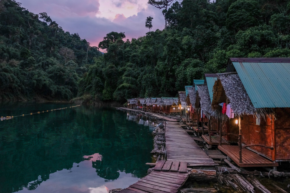 one night in Khao sok national park - April 30th, 2018